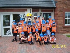 Clifton pupils build knowledge on their local area project