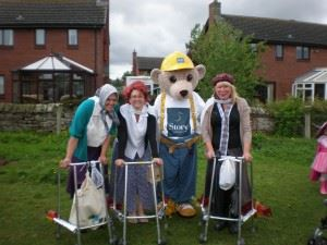 Wigton Carnival gets a visit from Builder Bear