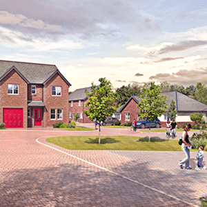 Development of new houses for sale at Great Clifton, Cumbria