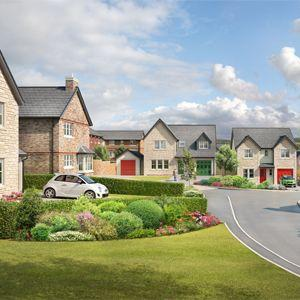 New houses for sale great clifton workington cumbria for Modern homes workington