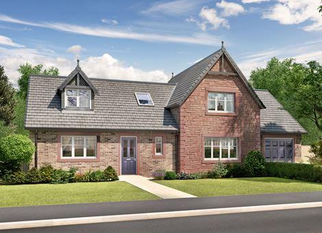 New houses for sale summerpark dumfries dg1 3bn for 4 bedroom dormer bungalow plans