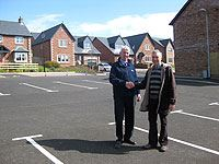 St Bees car park from Story Homes