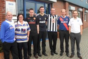 Staff get sporty for charity of the year