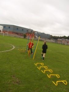 Upperby Park FC training the players of the future