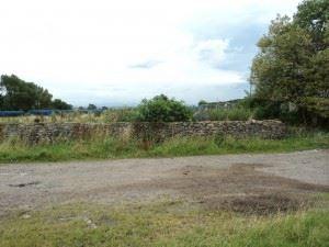 Crindledyke - Wall pre site start