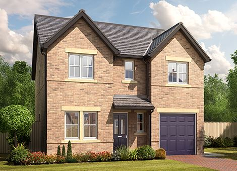 New houses for sale stainburn in workington ca14 1xp for Modern homes workington
