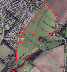 Aerial plan - Stoneyheugh, Workington1