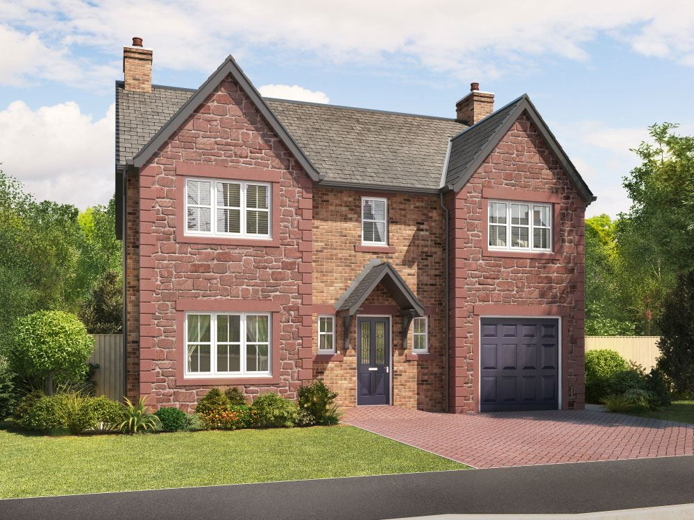 Plot 23 Four Bedroom House For Sale Lazonby Ca10 1bu