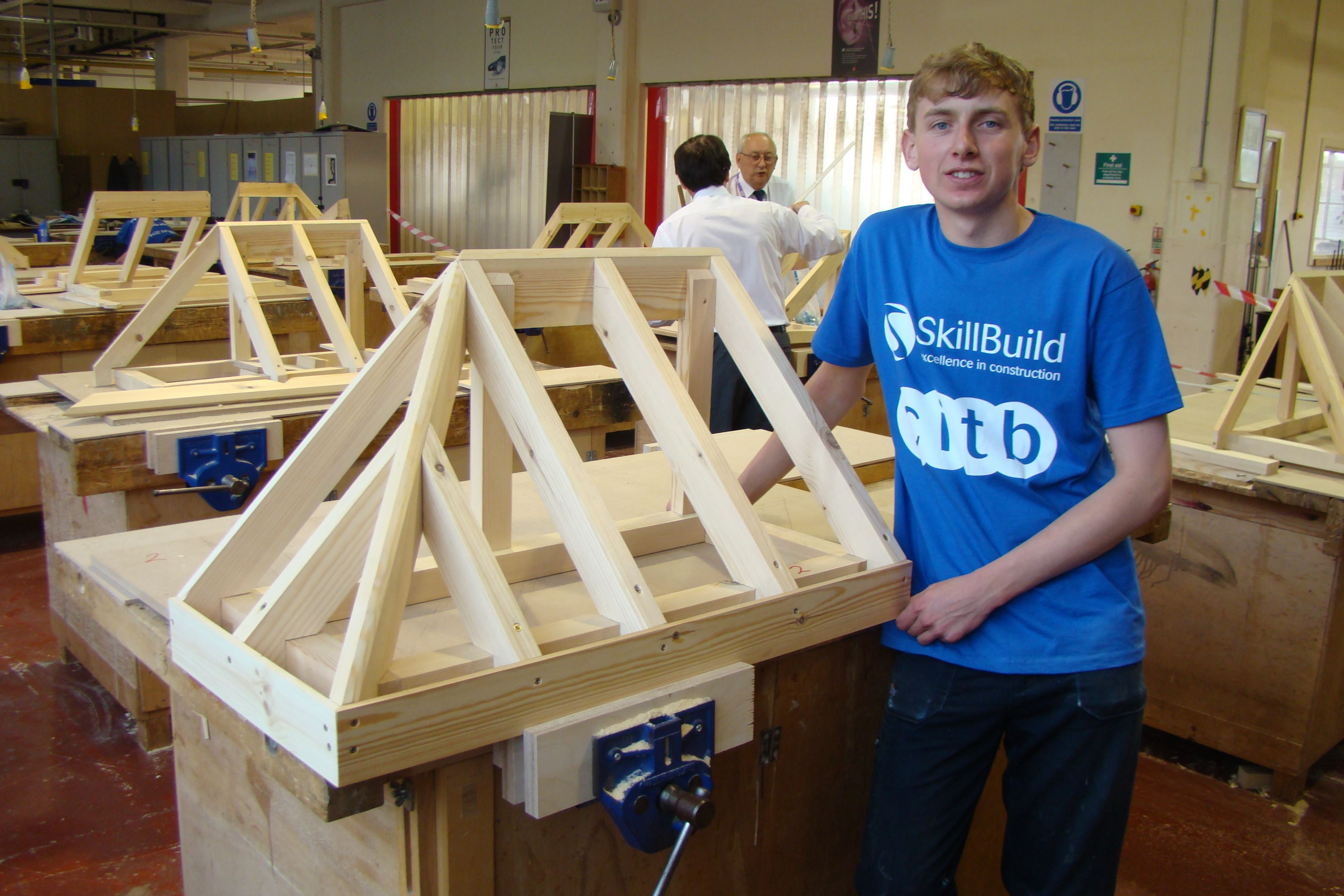 Joinery Apprentice Takes Scottish Skillbuild Title