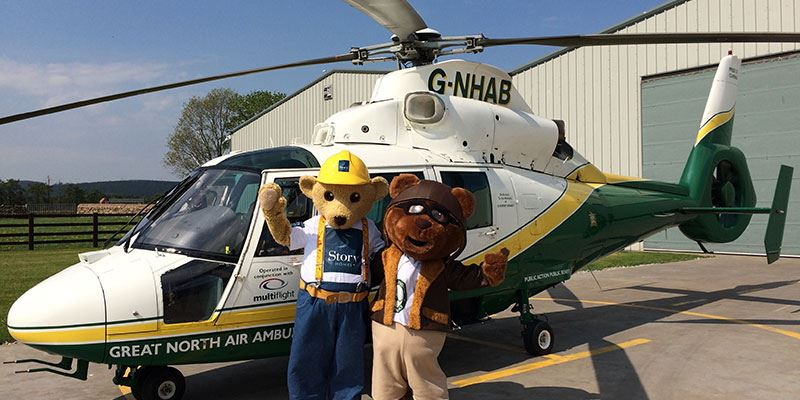Builder bear meet Miles the Bear from the Great North Air Ambulance<span>1/14</span>