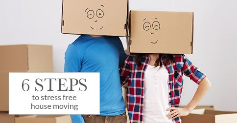 Six steps to stress free house moving from story homes for Moving to new house