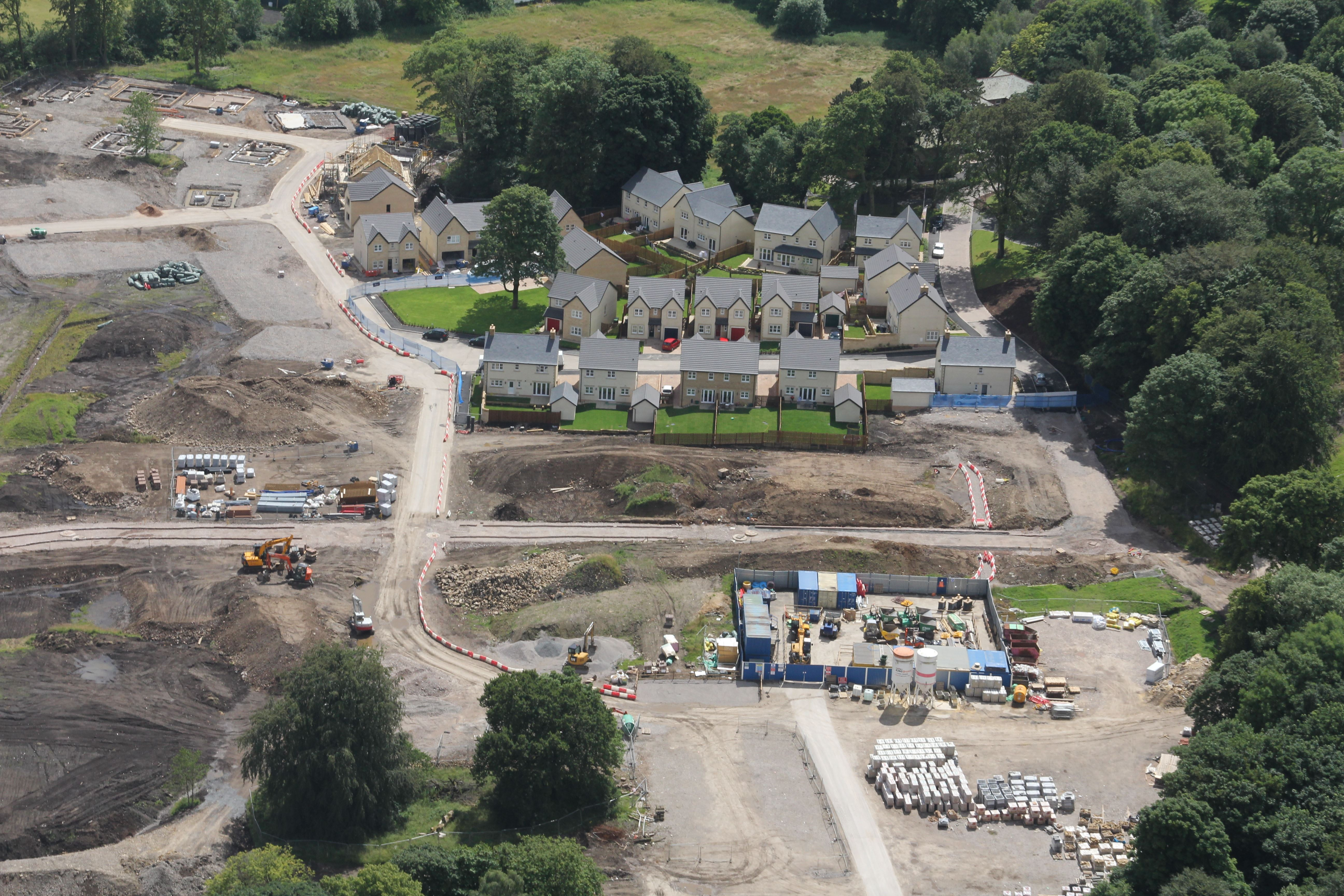Aerial Images Show Stunning High Wood Development As It Grows