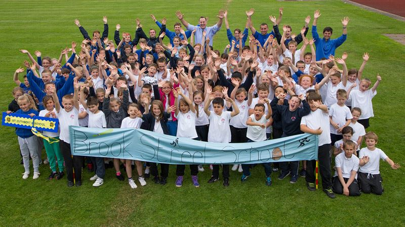Pupils celebrate annual sports festival<span>7/14</span>