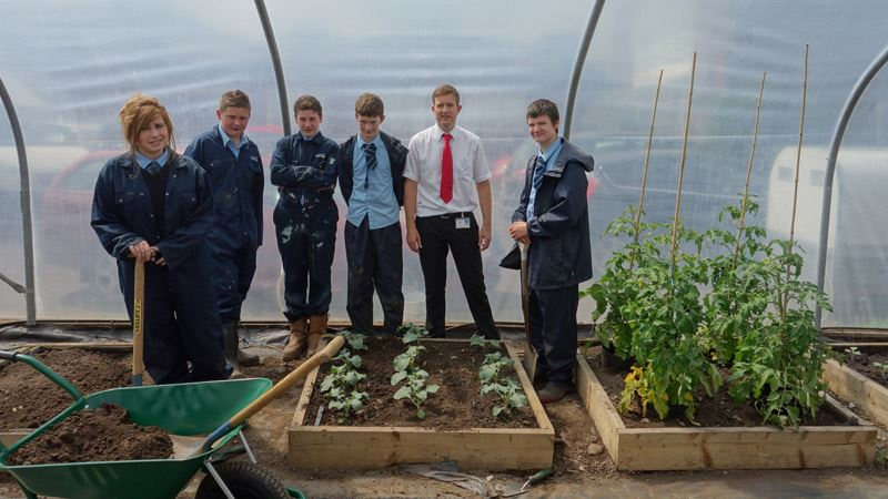 Caldew School pupils grow garden plans with soil delivery<span>11/14</span>