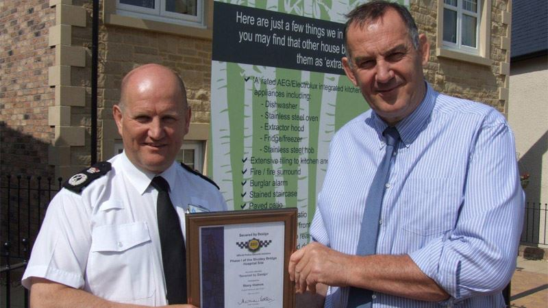 Fred receives 'Secured by Design' from Durham Constabulary<span>10/14</span>