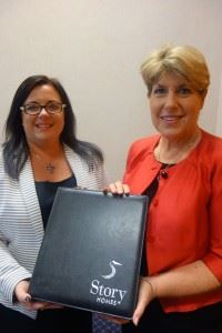 Louise McGuckin, Head of Sales, and Patti Bailey