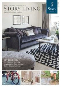 Front cover our the Story Living lifestyle magazine