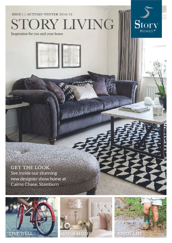 story homes launch new lifestyle magazine. Black Bedroom Furniture Sets. Home Design Ideas