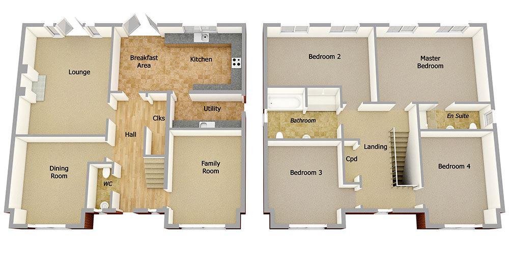 Plot 139 Four Bedroom House For Sale Appleby Ca16 6hr