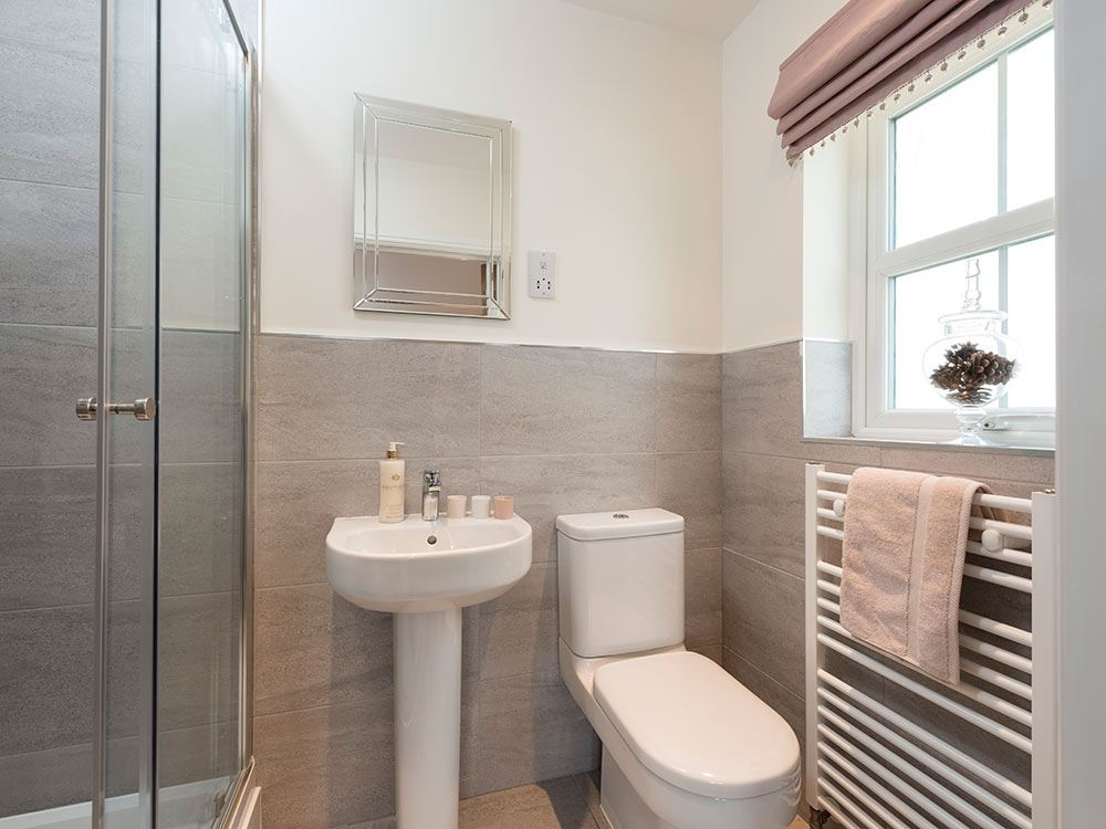 Plot 4 four bedroom house for sale cockermouth ca13 9xz for En suite bathroom