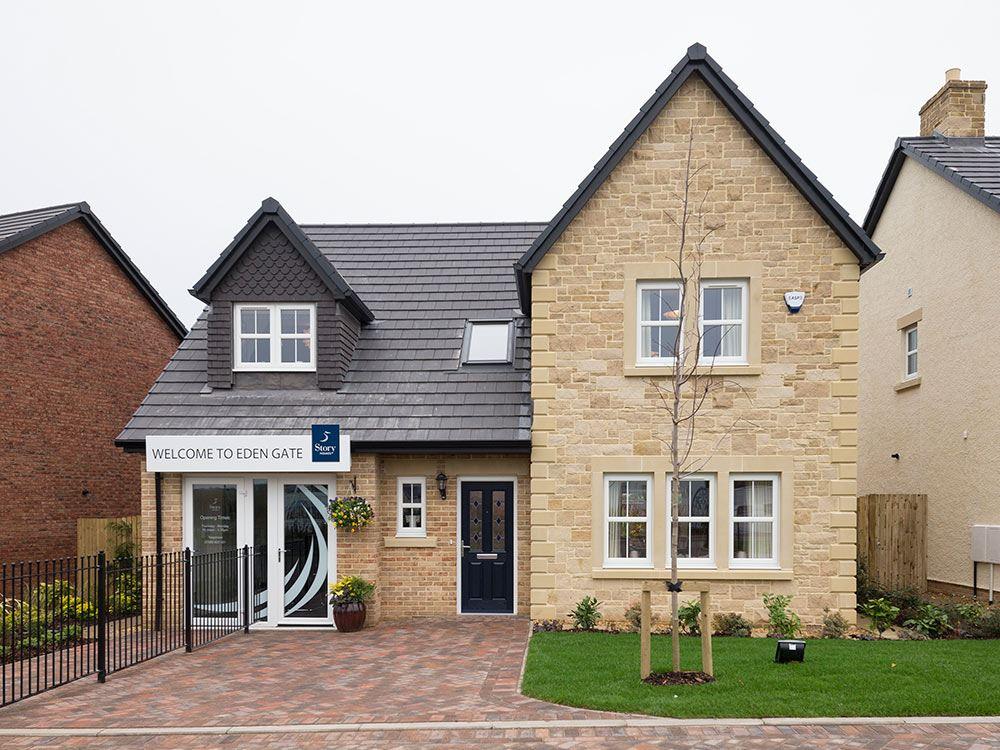 Plot 55 four bedroom detached for sale clifton ca10 2ep for Eden home