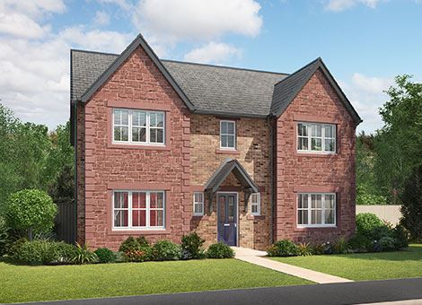 Our new house types 2 3 4 5 bedroom homes story homes for 5 bedroom house designs uk