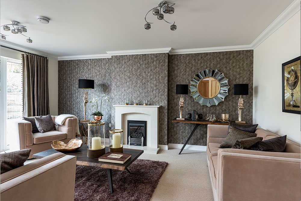 New show home showcases work of renowned interior stylist for Home interior images