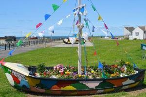 Flower-boat