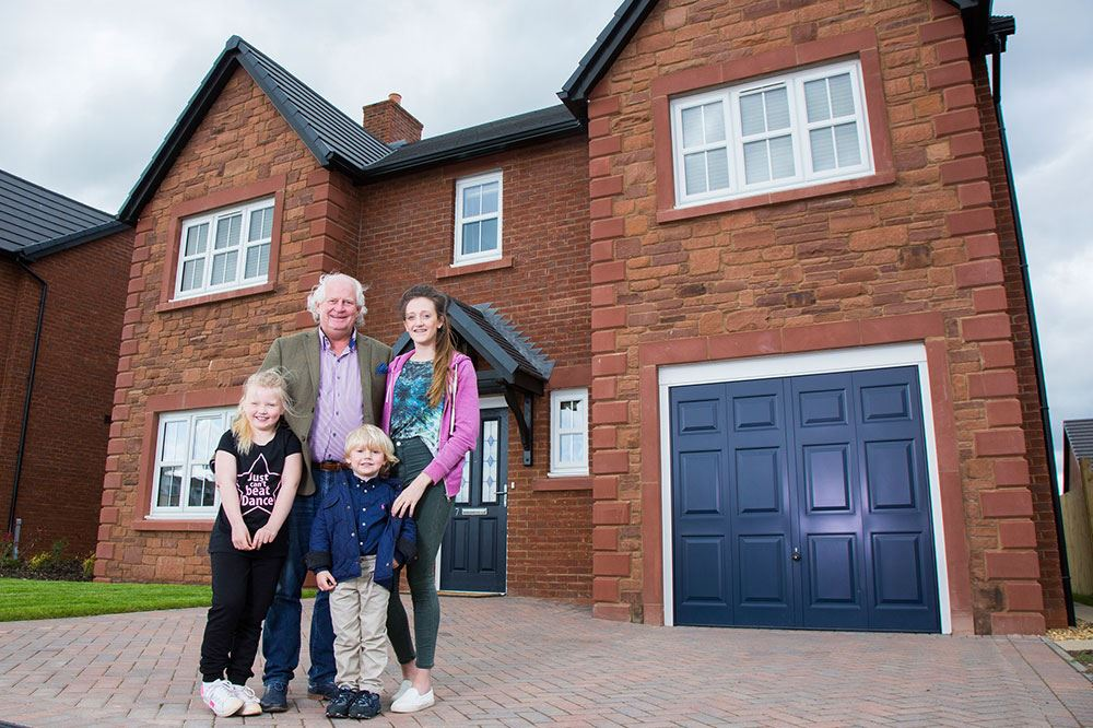 Ken Hogg And His Family Are Enjoying The Pace At The Ridings