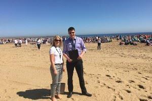 Sandcastle Dan Rebecca