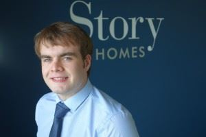 James Costin, Group Finance Trainee Joined Story Homes through the Dream Placement initiative.