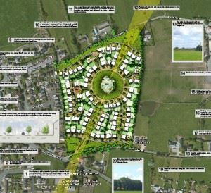 Site plans for Elswick