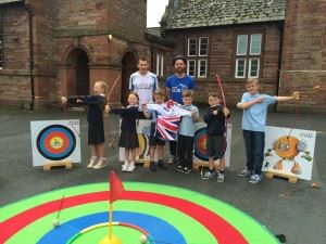 Lazonby School Tour of Britain