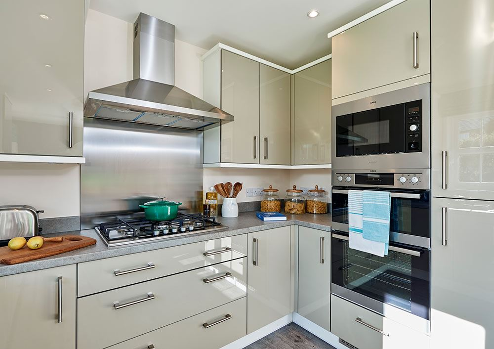 New show home opens at crindledyke farm - Show picture of kitchen ...