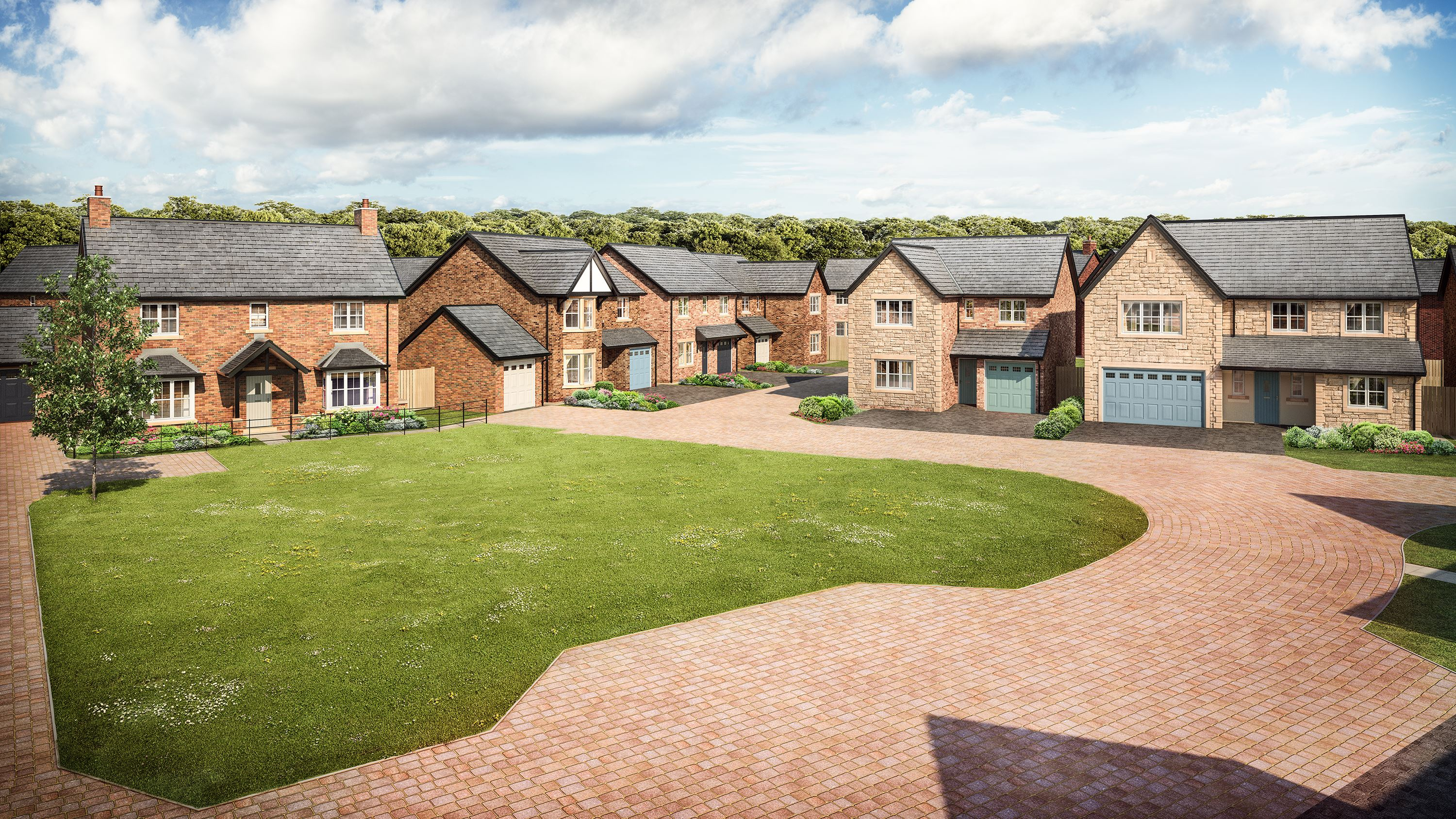 Sneak peek at the stunning homes coming to wynyard soon for Modern homes workington