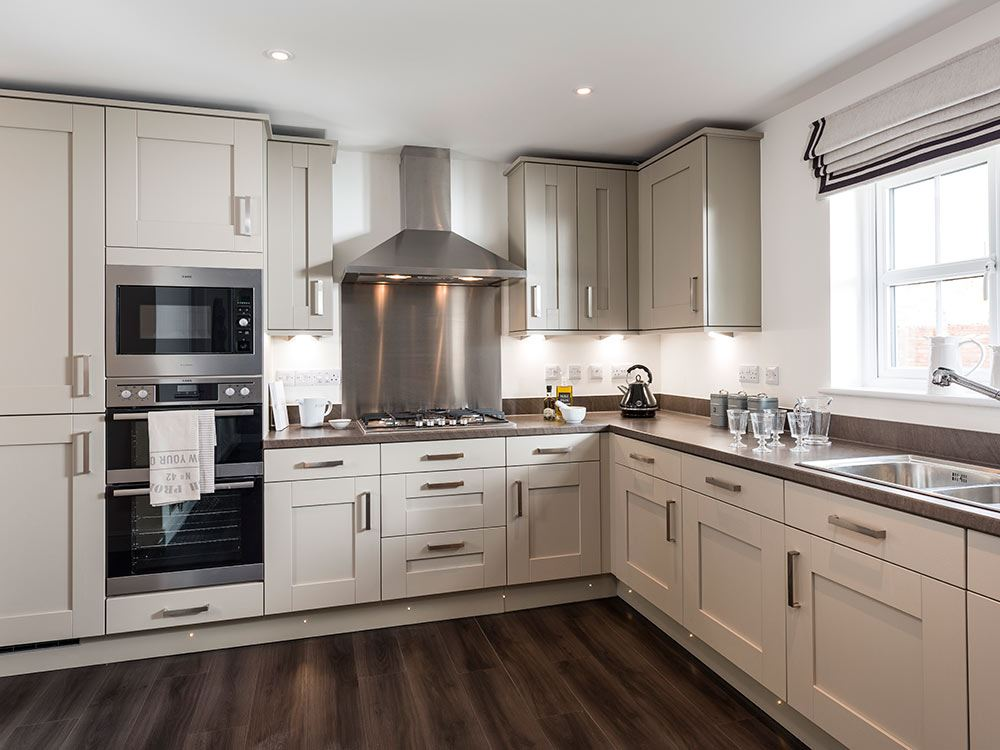 Finishing touches are put to our brand new specification - Show picture of kitchen ...