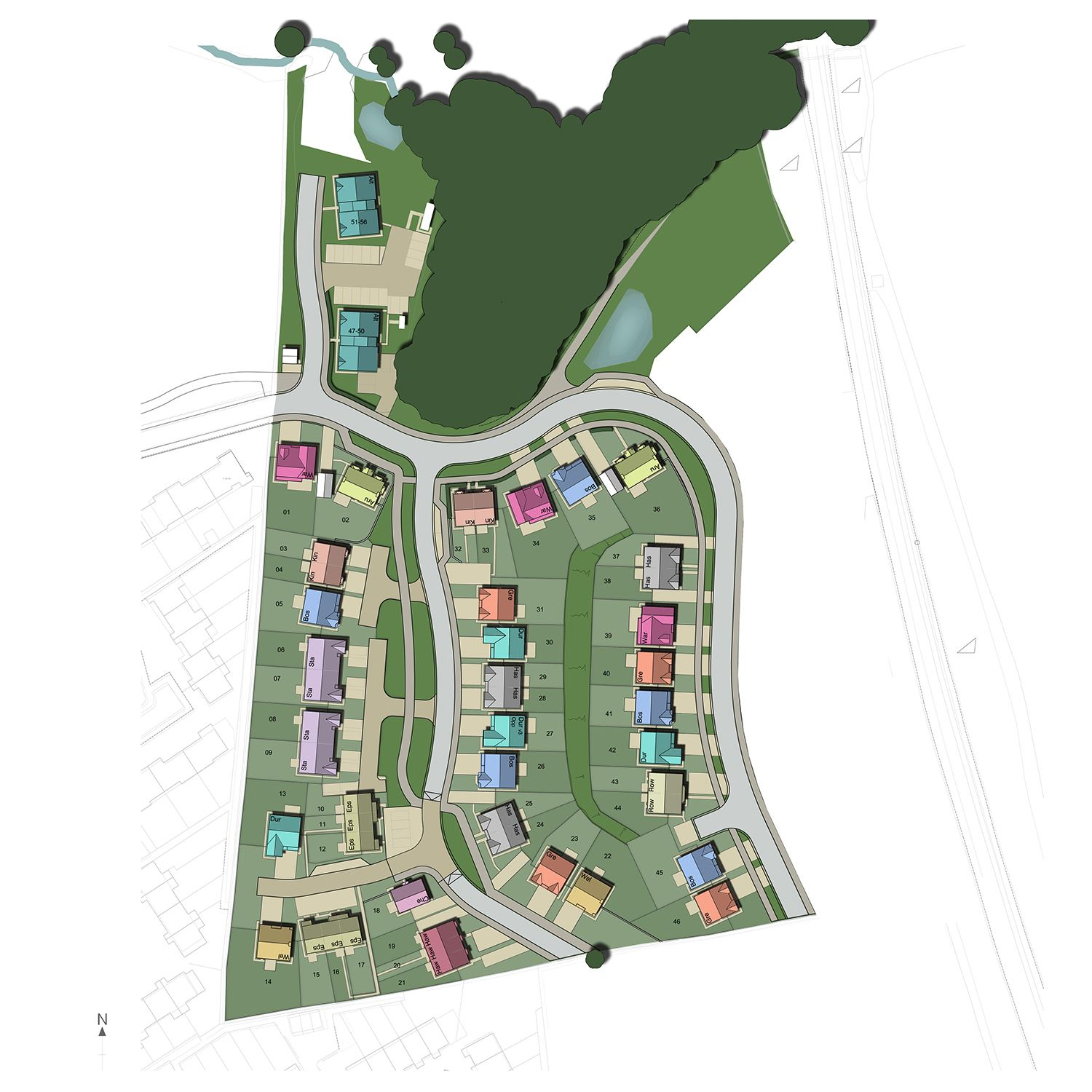 Property for sale in kendal for Home site plan