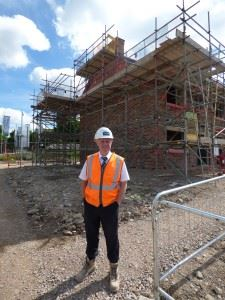 Harry and the construction of new homes