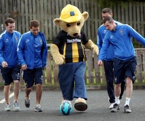 Morpeth Town FC set off to Wembley final in style thanks to Story Homes