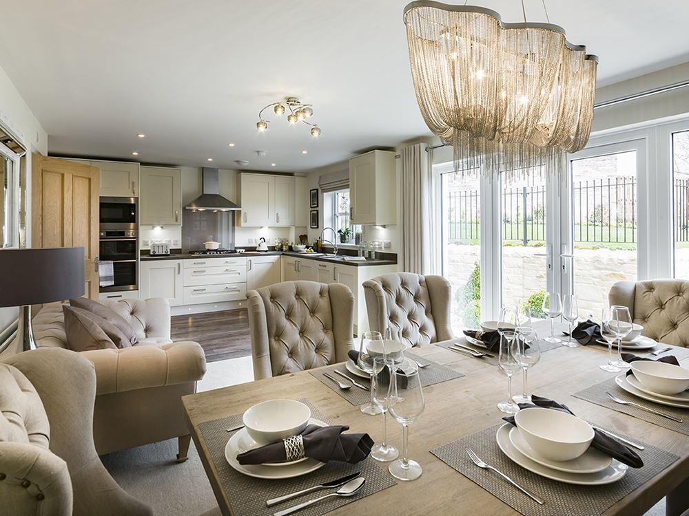 show home dining room | Plot 219 Four bedroom Detached for sale, Middleton St ...