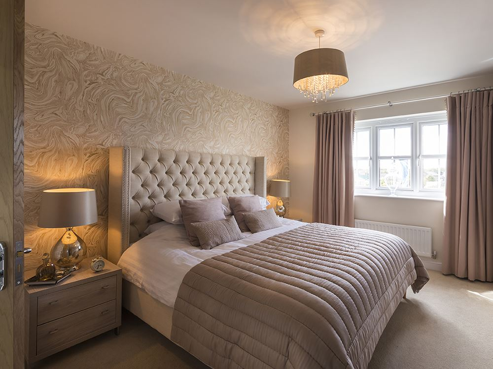 Show home now open at the silks lancaster for Bedroom design uk