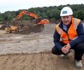 Work starts on site at new development of Signature range homes in Morpeth