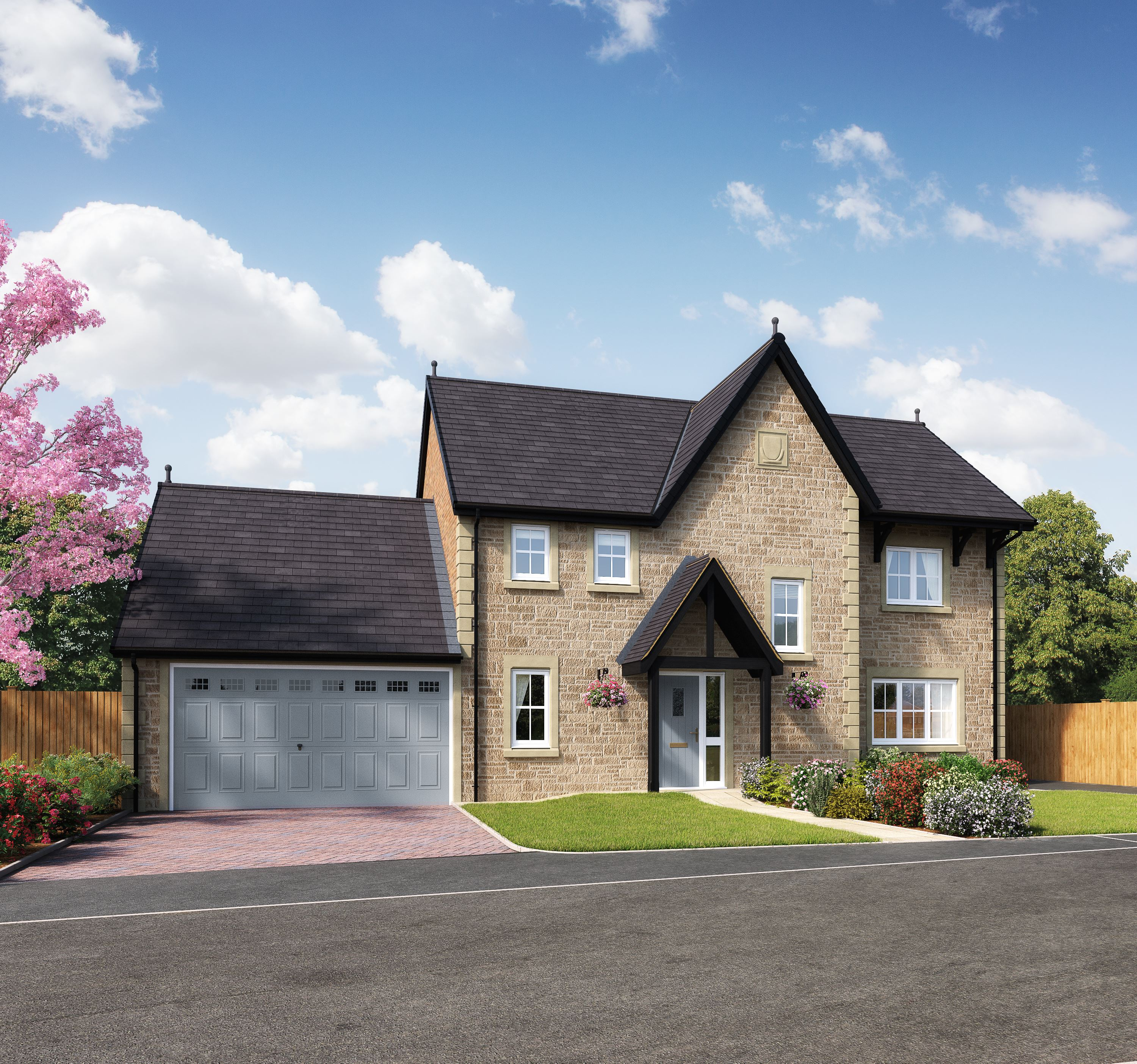 Peachy New Homes Are Revealed At Story Homes Durton Manor Download Free Architecture Designs Scobabritishbridgeorg