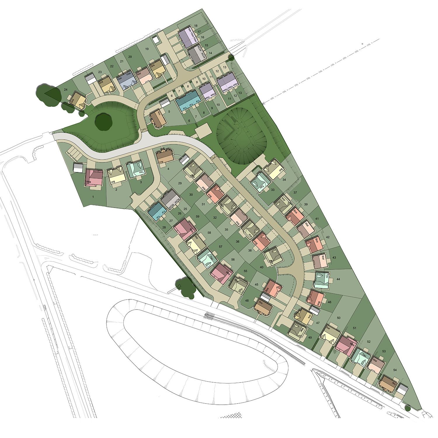 New houses for sale in clifton property in clifton for Home site plan