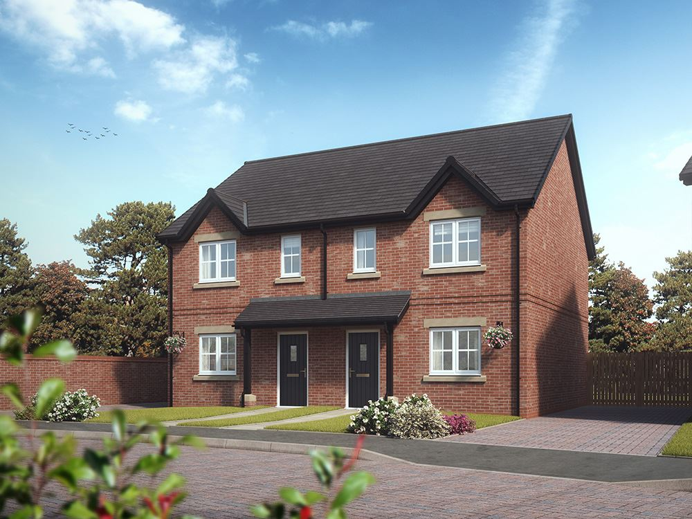 Plot 228 three bedroom semi detached for sale preston for Rowan house