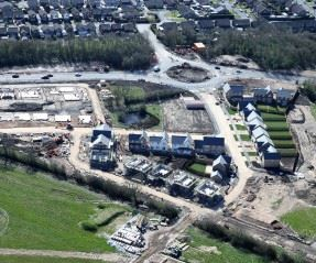 Aerial photography released of D'Urton Manor in Preston