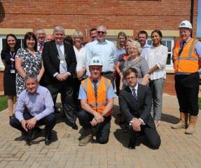 Mayor of Clitheroe visits Pendleton Grange