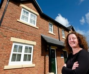 Karen makes use of 'affordable housing' to get her first foot on the property ladder