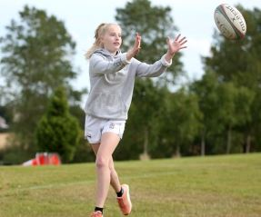 Boost for girls' rugby at Ryton RFC with our support
