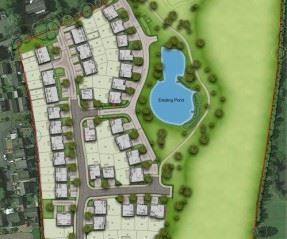 Reserved Matters planning application submitted for new homes in Elswick, Lancashire